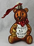 Waterford Christmas Ornament, Holiday Heirloom Baby's 1st Christmas 2010