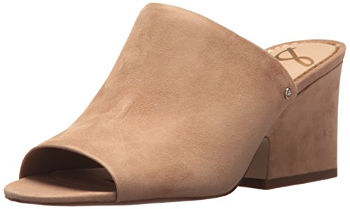 Sam Edelman Women's Rheta Wedge Sandal, Golden Caramel Suede, 6.5 Medium US Edelman Suede Wedges