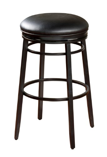 American Heritage Billiards Silvano Counter Height Stool, Black