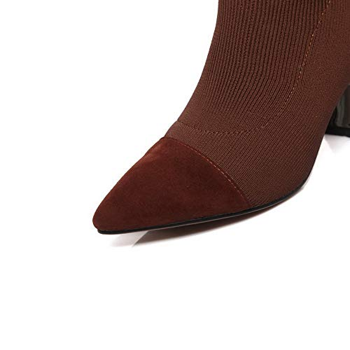 Marron Marron Femme Balamasa 5 36 Sandales Compensées Abm12527 qIxwFX1