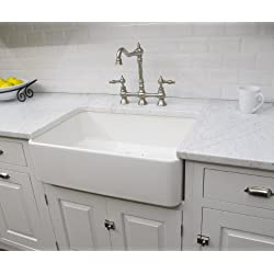 "Finefixtures Sutton 30"" Fireclay sink"