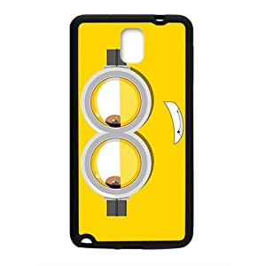 Lovely yellow classes doll Cell Phone Case for Samsung Galaxy Note3