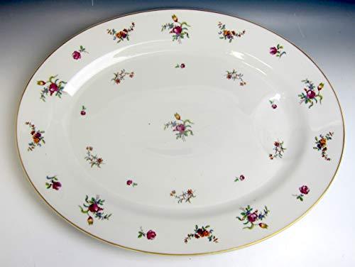 (Haviland China Mignonette Oval Serving Platter 16