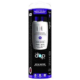 EveryDrop by Whirlpool Refrigerator Water Filter 1 (Pack of 1) (Packaging may vary)