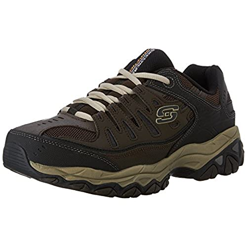 Skechers Men's Afterburn Memory Foam Lace-up sneaker