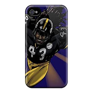 Anti-scratch And Shatterproof Pittsburgh Steelers Phone Case For Iphone 4/4s/ High Quality Tpu Case