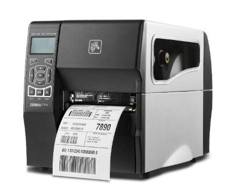 (Zebra Technologies ZT23042-T0E200FZ Series ZT230 Direct Thermal/Thermal Transfer Industrial Printer, 203 DPI, 4