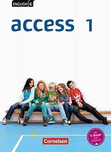 English G Access - Allgemeine Ausgabe: Band 1: 5. Schuljahr - Schülerbuch: Kartoniert