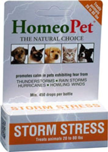 (HomeoPet Pro Storm Stress for Dogs 20-80 lbs, 5 ml )