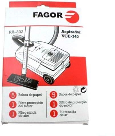 Fagor Bolsas Aspirador VCE-340: Amazon.es: Hogar