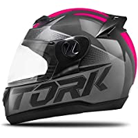 Pro Tork Capacete Evolution G7 56 Preto/Rosa