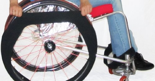 wheelchair tire covers - 5