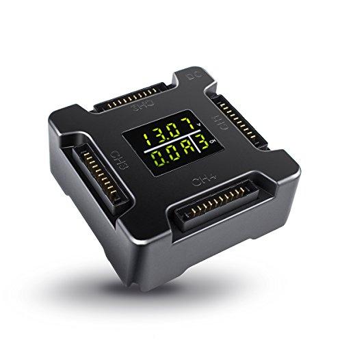 DJI Mavic Pro 4 In 1 Morpilot Rapid Multi Battery Charger Mavic Smart Charging Hub with Charging LED Display Indicator