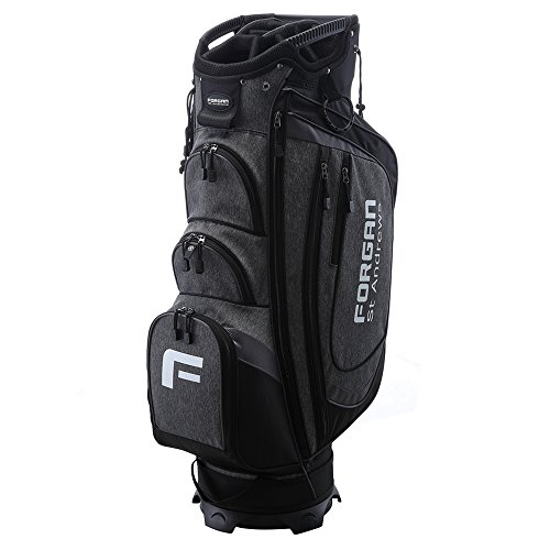 (Forgan The Country Club of St Andrews Deluxe Golf Cart Bag with 14 Dividers)