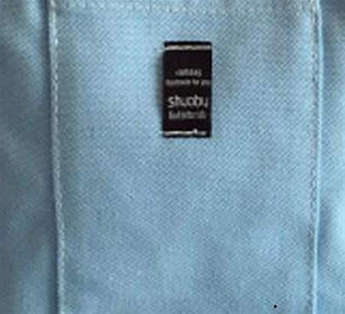 Hombro Estilo Carta Bolso Atmósfera Literaria Meidi Japonés Simple Claro Azul Colgada Bolsa De Lona Home gxUgwnfY1q