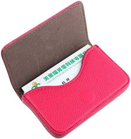 Voberry® Exquisite Magnetic Attractive Card Case Business Card Case Box Holder