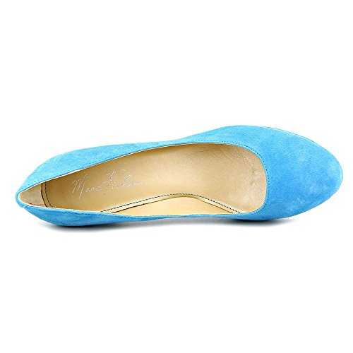 Marc Fisher Womens Sydney Closed Toe Classic Pumps Medium Blue Suede 16U6xF4zyW