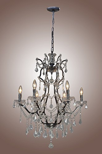 Tulip french style wrought iron crystal chandelier dia 256 tulip french style wrought iron crystal chandelier dia 256 by decomust aloadofball Choice Image