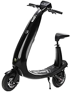OjO Commuter Scooter for Adults - Eco-friendly, Electric & Smart - Ice Black