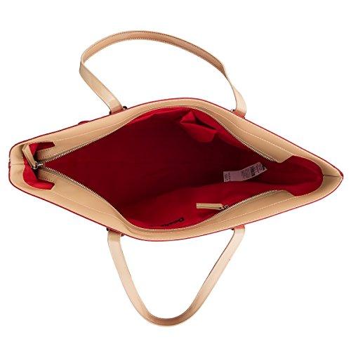 Gli amanti dello shopping e Womens borse a tracolla, color Rosso , marca DESIGUAL, modelo Gli Amanti Dello Shopping E Womens Borse A Tracolla DESIGUAL 61X50E5 Rosso