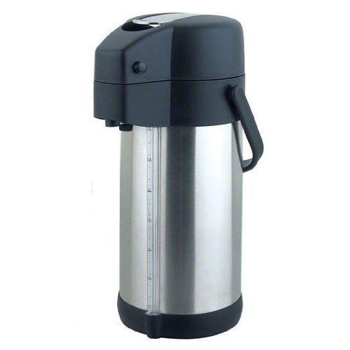 Update International (LSG-30/BK) 3 Liter Stainless Steel Airpot by Update International