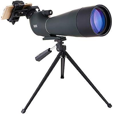 DOTXX 20-60X80 Telescopio Terrestre Verde HD, con Trípode y Adaptador de Smartphone para Observación de Aves, Tiro Al Blanco y Acampar y Excursionismo: Amazon.es: Deportes y aire libre