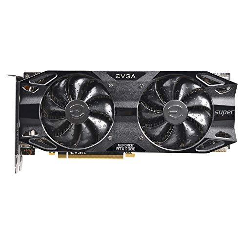 EVGA 08G-P4-3081-KR, GeForce RTX 2080 Super Black Gaming, 8GB GDDR6