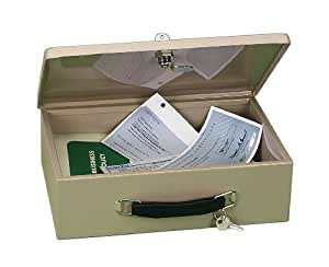 PM Company 997353 Fire Retardant Locking Security Box