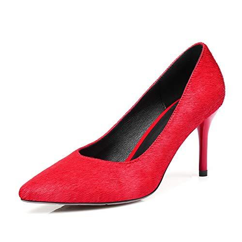 1to9 Sandales Femme 36 Rouge Compensées 5 Mms06522 Eu Red r6qOU5PrWw