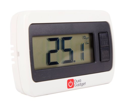 twin pack indoor lcd room temperature thermometer gauge. Black Bedroom Furniture Sets. Home Design Ideas