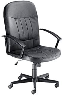 Trexus High Back Manager Armchair W500xD480xH465 580mm Backrest H620mm  Leather