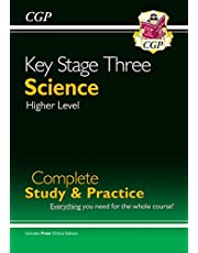 KS3 Science Complete Study & Practice (with online edition) (CGP KS3 Science)