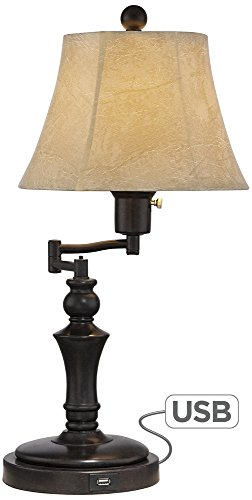 Corey Swing Arm Desk Lamp with USB Port by Regency Hill (Image #7)