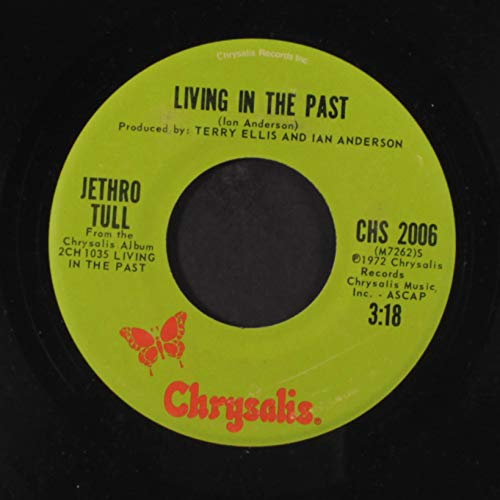 living in the past / xmas song 45 rpm single (Jethro Tull Living In The Past Vinyl)