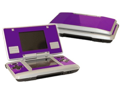 - Nintendo DS Skin (Original) - NEW - POPPIN PURPLE system skins faceplate decal mod