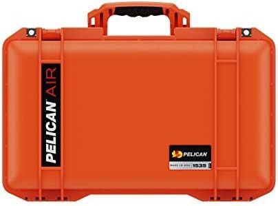 Pelican Air 1535 Hülle Ohne Schaumstoff Orange Kamera