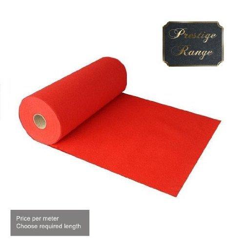 2M X Prestige Heavy Duty Red Carpet Runner Partyrama RedCarpet-DLX-2