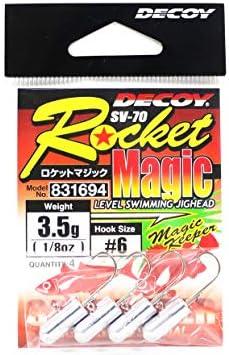 カツイチ(KATSUICHI) SV-70 ロケットマジック #6-3.5g SV-70