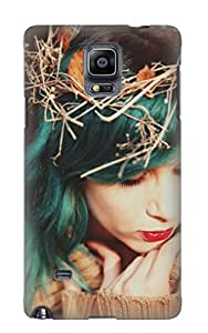 Exultantor Case Cover For Galaxy Note 4 - Retailer Packaging Autumn Fairytale Protective Case