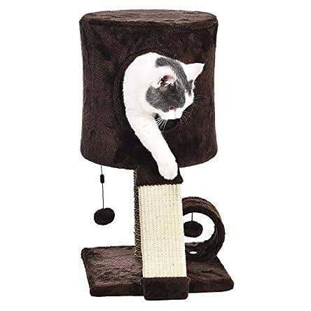 Amazon Basics Cat Tree Tower With Perch Condo –...