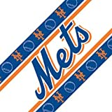 MLB Wallpaper Border MLB Team: New York Mets