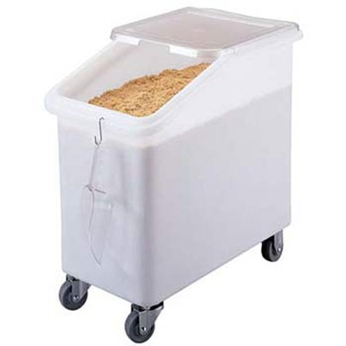 Cambro IBS27 Cambro Mobile Ingredient Bin - Slant Top - 27 Gallon Capacity - IBS27