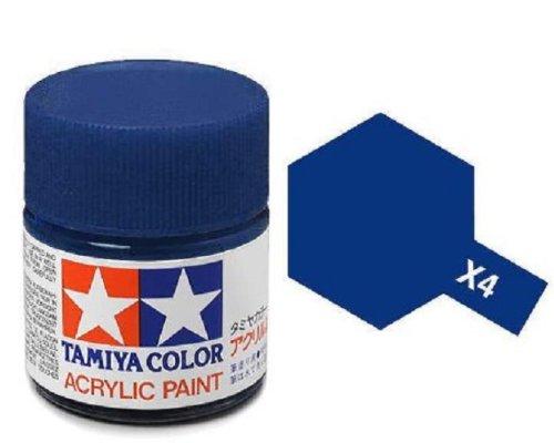 Tamiya Models X-4 Mini Acrylic Paint, Blue