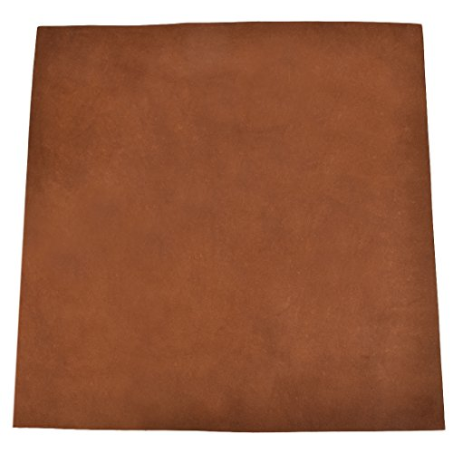 "Leather Square (12""x12"") for Crafts/Tooling/Hobby Workshop, Medium Weight (1.8mm) by Hide & Drink :: Swayze Suede"
