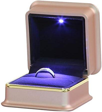 [スポンサー プロダクト]プロポーズ LED指輪ケース リングケース ジュエリー収納 記念日プレゼント