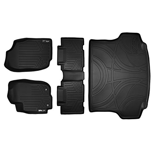 MAXLINER Floor Mats and Cargo Liner Set Black for 2013-2018 Toyota RAV4 (No Electric or Hybrid Models)