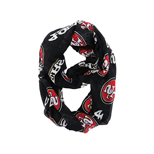 NFL San Francisco 49ers Sheer Infinity Scarf by Littlearth