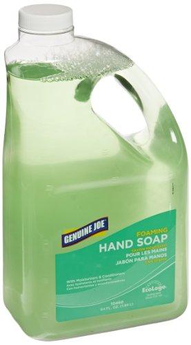 Genuine Joe GJO10460 Anti-Bacterial Moisturizing Foaming Hand Soap, 2 qt Bottle, - Soap Foam Hand