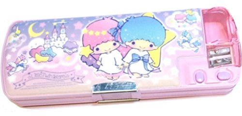 Little Twin Stars (Little Twin Stars Multi-function 2 Sided Pen Pencil Box Holder with Sharpener)