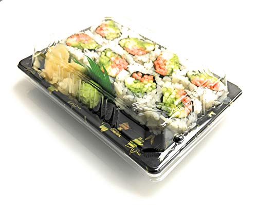 Sushi Tokyo - Sushi Tray with Lid 50 Set (#8)
